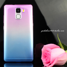 Fashion Soft ultra thin Transparent colorful TPU case Huawei P7 P8 lite P9 G730 G628 G7 V8 Maimang 3 4 cover - S Electronic store