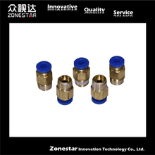 5PCS lot Air Pneumatic Connection 1 4 PC08 01 3D Printer Parts Accessories for Bowden Extruder
