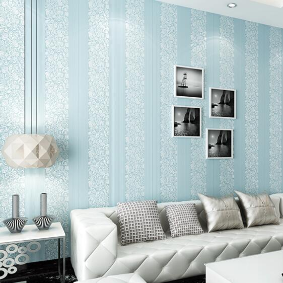 10m home improvement wall paper modern fashion non for Fashion wallpaper for bedrooms