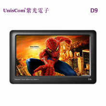2015 Hot Unisplendour electronic D9 4.3 inch 8G HD mp4 mp5 player touch panel keys authentic consoles free shipping(China (Mainland))