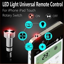 Smart Remote Control IR Universal Controller with LED Light Air Conditioner TV DVD STB Speaker Fan Controller For iPhone iPad