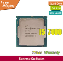 Buy Original Processor Intel i5 7400 Quad Core 3.0GHz LGA 1151 TDP 65W 6MB Cache 14nm HD Graphics Desktop CPU for $198.00 in AliExpress store