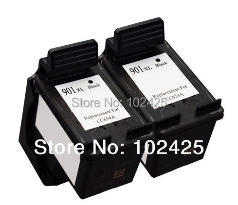 Compatible Ink Cartridge 901 For HP 901XL Black ink cartridge For HP Officejet 4500 4600 J4550 J4580 J4680 J4680C Printer(China (Mainland))