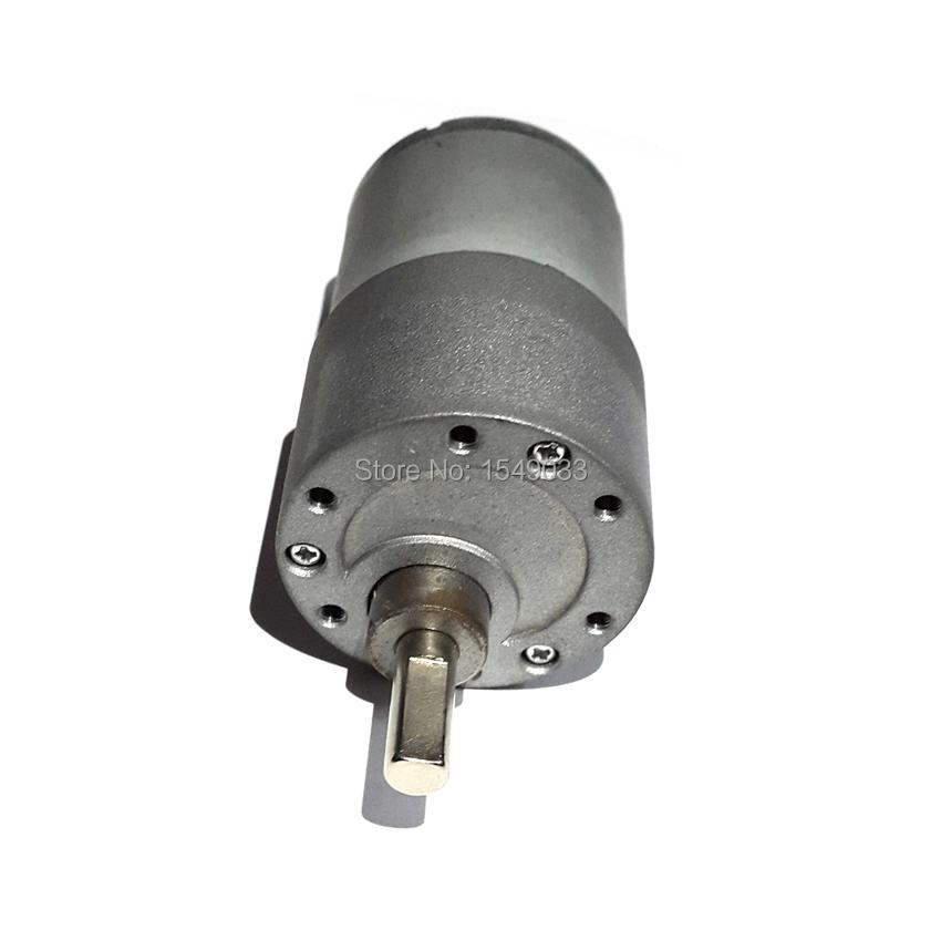 Dc 24v motor 37gb 37mm 150rpm high powered torque 12kg cm for Dc motor high torque