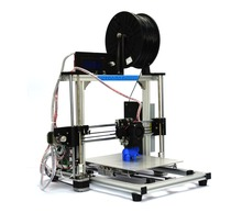6 Materials Big Aluminum Frame Reprap Prusa I3 DIY 3D Printer 3 D impressora KIT Machine with  LCD Screen and PLA filaments