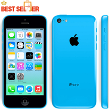 "Hot Sale Unlocked Original Apple Iphone 5C Cellphone 4.0"" Dual Core 8MP Camera IOS WIFI GPS Used mobile phone Multi-language(China (Mainland))"