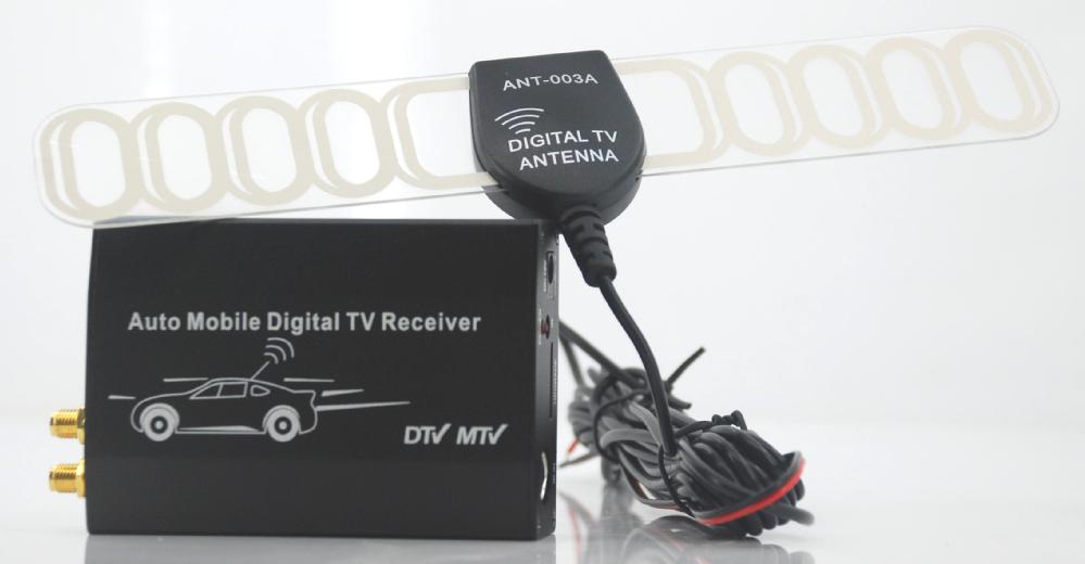 Best mobile dvb t turner H.264/MPEG2 car dvb t tv receiver(China (Mainland))