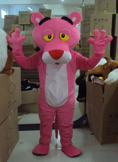 Pink panther onesie for adults