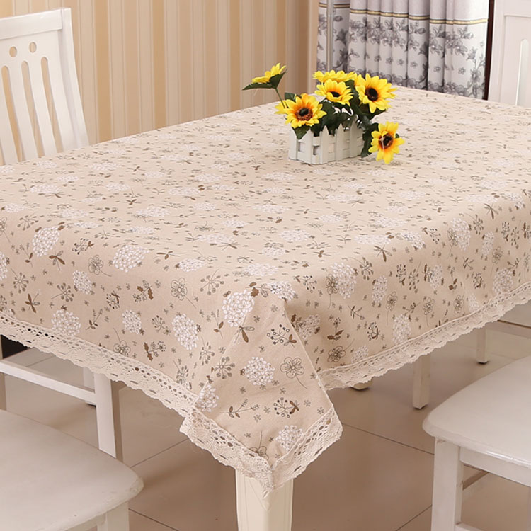 New Arrivals Dragonfly Floral Cotton Linen Table Cloth Vintage Retro Square Rectangular Table Cover Tablecloth Home Textile WZ(China (Mainland))