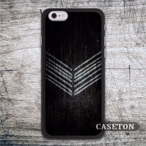 Vintage Scratched Black Chevron Case For iPhone 7 6 6s Plus 5 5s SE 5c and For iPod 5 High Quality Classic Ultra Cover