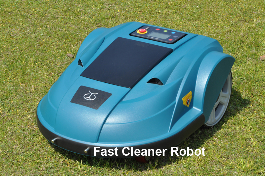 Robot Lawn Mower Updated with Newest WIFI Smartphone APP Control (Auto Recharge,Schedule,Water-proofed,Range function,Subarea