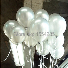 Buy Free Ship 100pc/Lot 10' Inch 2g Silver Balloon Wedding Event & Party Supplies Inflable Latex Balloon Party Decoration baloes for $7.32 in AliExpress store