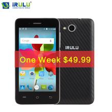 iRULU Smartphone U4 mini 4.0 inch MTK6735 Android 5.1 Quad Core 4G LTE 8GB Dual SIM QHD LCD 8MP CAM Heart Rate Light Sensor - iRulu-Net store