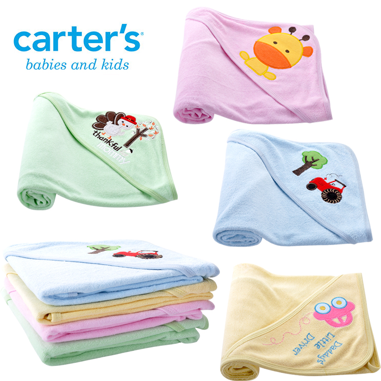 2015 Carter's blanket Baby Receiving Blankets Cotton Flannel Swaddling Newborn Infant Fit 0-6 Month - FANNY-STORE store