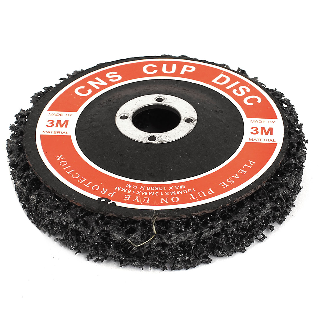 Paint Rust Remover Abrasive Sanding Cleaning Discs Black 100mmx16mmx13mm<br><br>Aliexpress