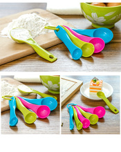 Hot new Super-Useful 5PC Kitchen Measuring Spoons Kitchen Accessories Spoon Cup Baking Utensil Set Kit Exquisite ml spoon