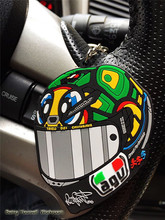 New! moto Gp key chain Valentino Rossi Keyring Motorcycle helmet keychain PVC Rubber soft Keychains Formula1 wholesale(China (Mainland))