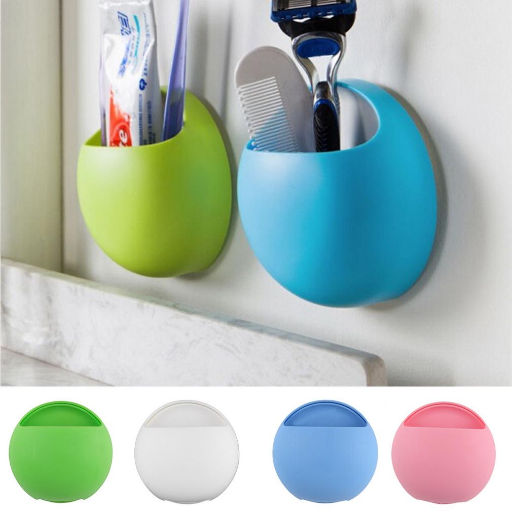 Bathroom Suction Hooks 2017 Cute Eggs Design Toothbrush Holder Suction Hooks Cups