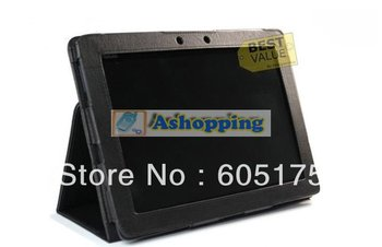 100 pcs/lot Folio PU Leather Case For ASUS Eee Pad Transformer TF300 TF300T 10.1 Stand Cover