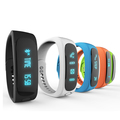 E02 Sport bluetooth bracelet smart watch healthy Silicone Wristband Time Caller ID alarm Pedometer Sleep Monitor