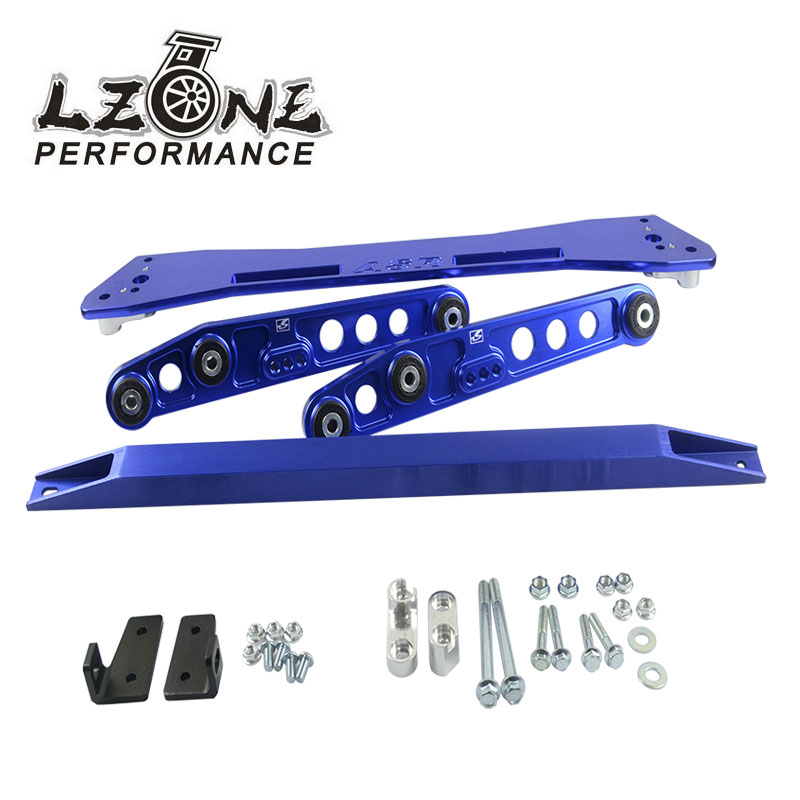LZONE - ASR SUB FRAME FOR 92-95 Civic 93-97del Sol + EG Rear Lower Control Arm+ 92-95 Tie Bar HQ Anodized Six Color For choose(China (Mainland))