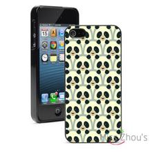 Cartoon Panda Bears Protector back skins mobile cellphone cases for iphone 4/4s 5/5s 5c SE 6/6s plus ipod touch 4/5/6