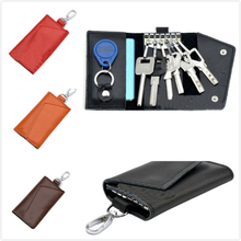 Incroyable nouveau mode en cuir portefeuilles clés créative paquet de carte Multi - fonction sacs pour clés porte -(China (Mainland))