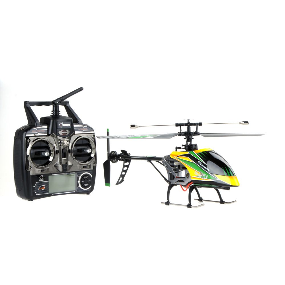 Brand New Wltoys V912 Large helicoptero 2.4G 4CH Single Blade RC Helicopter Toy with Mode 2 Transmitter(China (Mainland))