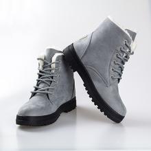 Botines de moda para mujer zapatos 2016 botas de nieve caliente(China (Mainland))