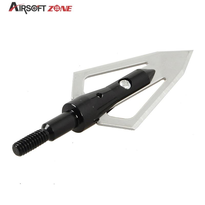 12PCS lot Black Replaceable Arrowhead Broadheads Flechas Flechas Carbono Oxota Archery Arrows for compound Recurve Arrow