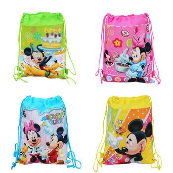 Новый 2016 Drawstring Рюкзак Мешок Школы, детские рюкзаки водонепроницаемый сумки для мальчиков девочек хороший подарок на день рождения
