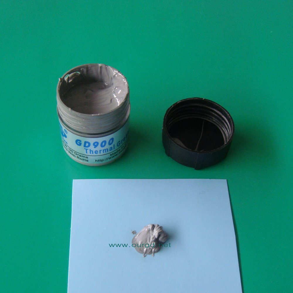 GD Brand N W 30g High Performance Gray GD900 Thermal Conductive Grease Paste Silicone PS3 CPU
