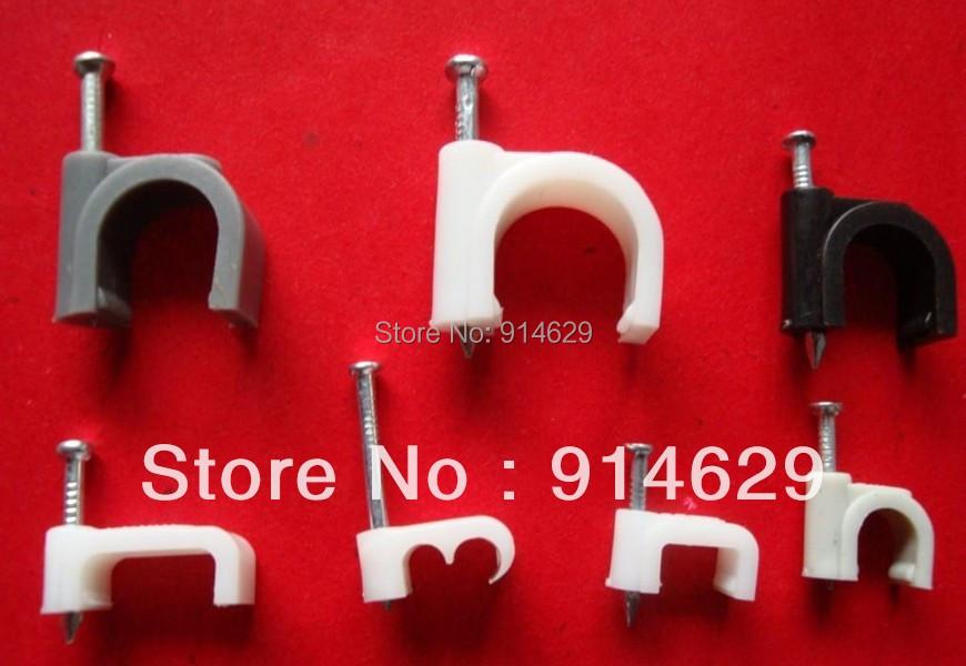 Nail Cable Clip,square