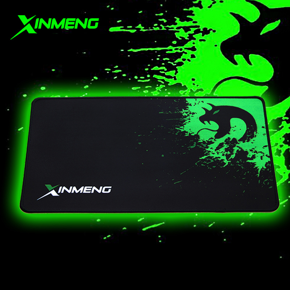 XINMENG Oversized Thick and Durable Non-slip Edging Comfortable Gaming Office Computer Mouse Pad 800*300mm 320*240mm 410*250mm(China (Mainland))
