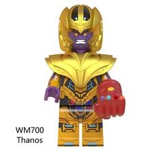 Endgame único Avengers Thor IronMan Capitão América Marvel Thanos Pimenta Stan Lee blocos de construção de Brinquedos As Crianças Do Homem Aranha(China)