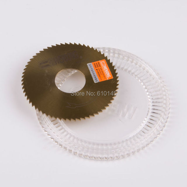 NO:0022  titanizing  WENXING key cutter blade 70*22*1.3mm saw blade