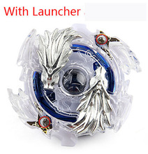 New Spinning Top Beyblade BURST B-23 With Launcher And Original Box Metal Plastic Fusion 4D Gift Toys For Children F3(China)