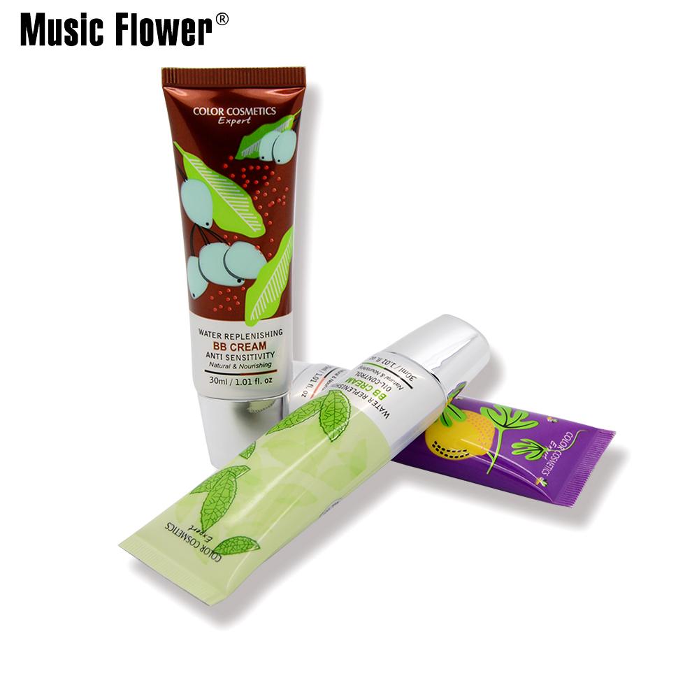 Natural BB creme nu maquiagem corretivo creme de fundação Natural hidratante nutritivo maquiagem Base de 30 ml/pçs
