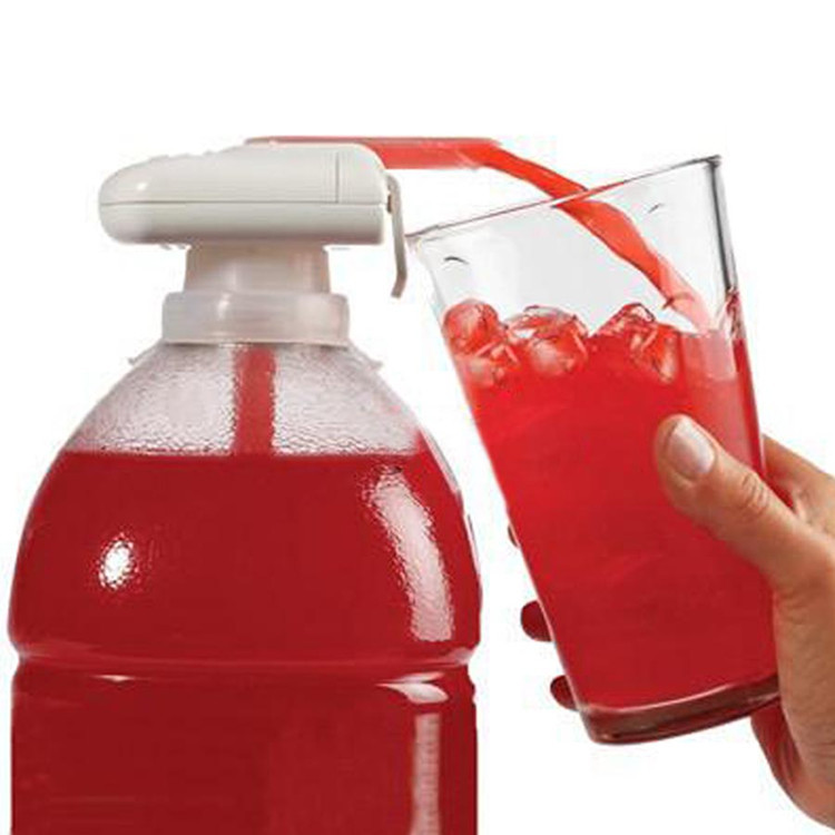 2016 new hot Magic tap TV Drinking straw electric automatic drink dispenser for water fruit juice coke milk tools kids adullt(China (Mainland))