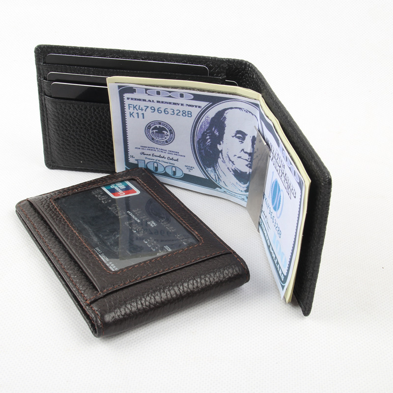 New Money Clip Luxury Band Genuine Leather Clip for Money clip Fashion High Quality Clip Wallet Multifunctional Clip Purse N088<br><br>Aliexpress