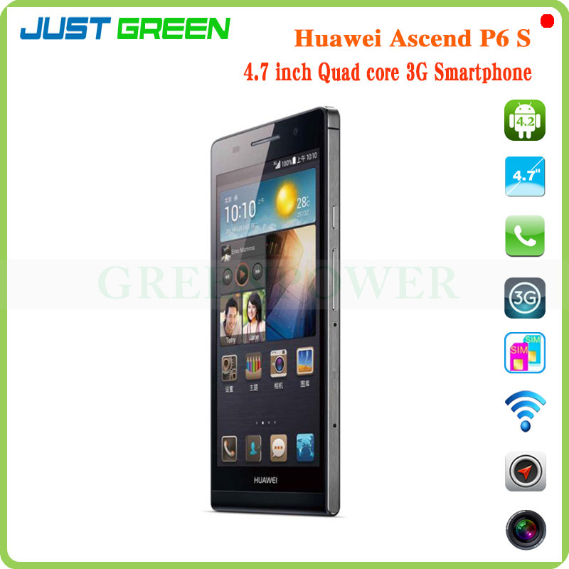 Hot Sale Original Huawei Ascend P6s Smartphone 4 7 Inch Hisilicon Kirin910 Quad Core 1 6ghz