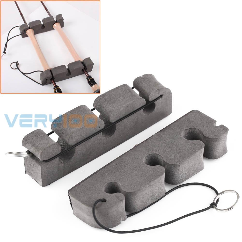 Very100 2pcs lot magnetic fly fishing rod holder to for Fishing rod holders for cars