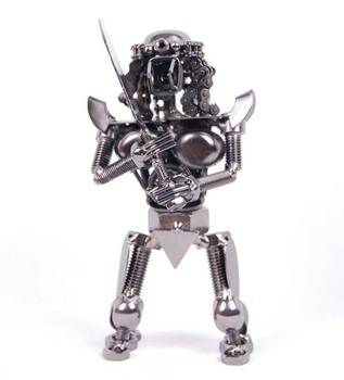 Iron crafts creative personality model robot home furnishing articles gifts sword free shipping