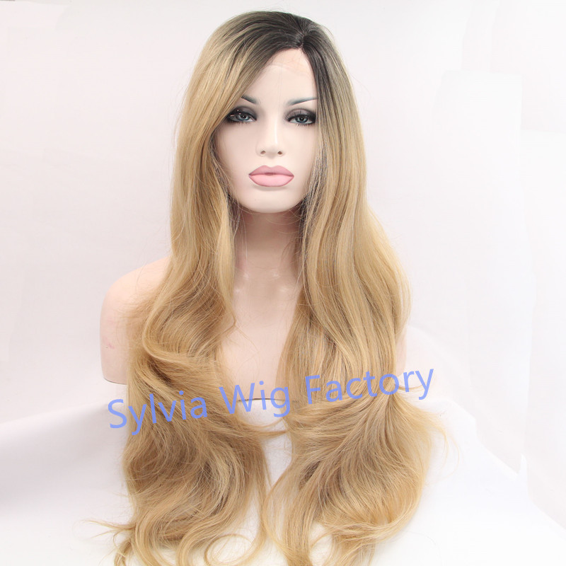 Blonde Wig With Roots 86