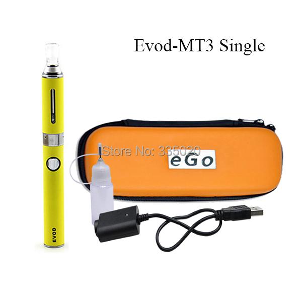 EVOD MT3 Single Electronic Cigarette Starter Kit 650mah 900mah 1100mah EVOD Zipper Packing Ecigarette 1Set Sale<br><br>Aliexpress
