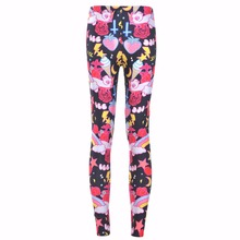 Buy New 3231 Sexy Girl Rainbow unicorn Cross ice cream Prints Elastic Slim Fitness Workout Women Leggings Trousers Pants Plus Size for $8.28 in AliExpress store