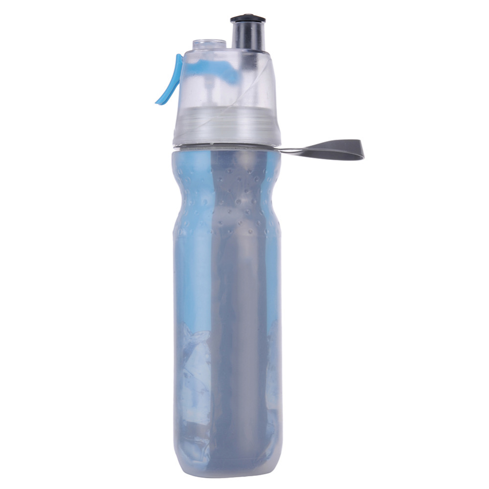AIHOME 500ML Creative Spray Water Bottle 2016 New Outdoor Sport Hiking Bottle Cycling Camping Picnic Flip Lid Cup With The Straw(China (Mainland))