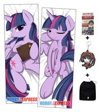 Little Po MLP Anime Dakimakura Japanese Hugging Body Pillow Cover ADP64057 - Hobby Express Store store