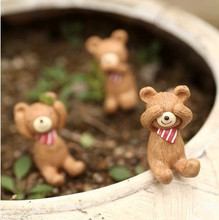 ZAKKA three no Resin Dolls 3PCS/LOT Japanese Style looking up at the sky Small Animals Figurines Home Decoration Gifts Crafts(China (Mainland))