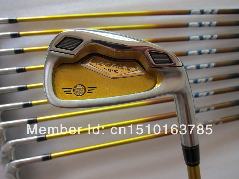 Beres MG803 Golf Irons Forged iron heads Set 3-11 SW 10pcs R/S Flex with Free Shipping(China (Mainland))
